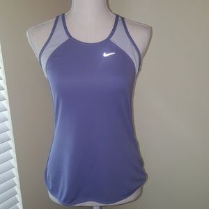 Nike Tops - Nike Fit Dry purple and gray tank